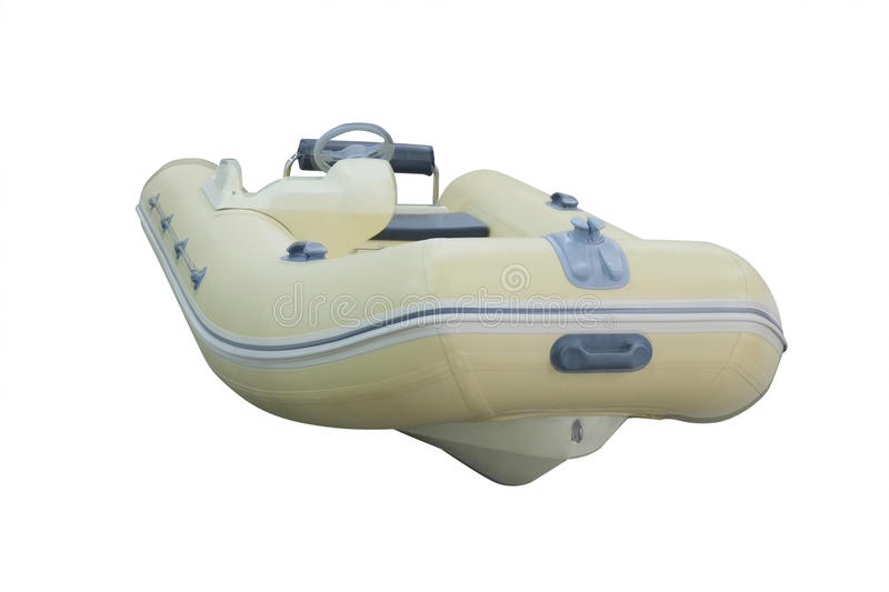 Inflatable boat. The image of an inflatable boat royalty free stock image