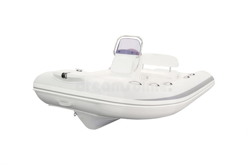 An inflatable boat. The image of an inflatable boat royalty free stock photography