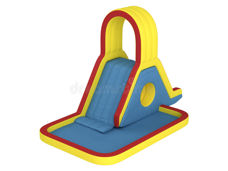 Download Inflatable Children`s Slide Stock Illustration - Image: 19534288