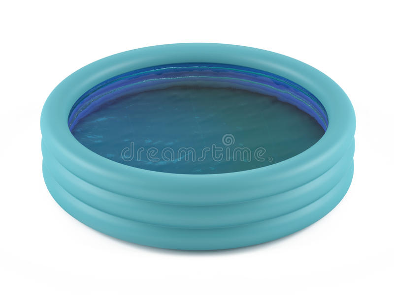 Inflatable pool royalty free stock image