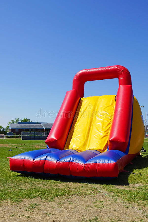 Download Inflatable slide stock photo. Image of cute, park, party - 38236440