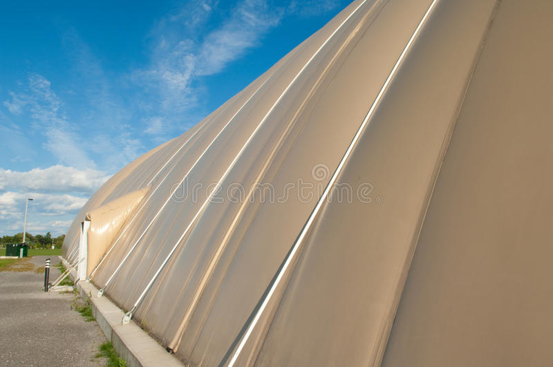 Inflatable Soccer Dome Stock Photos