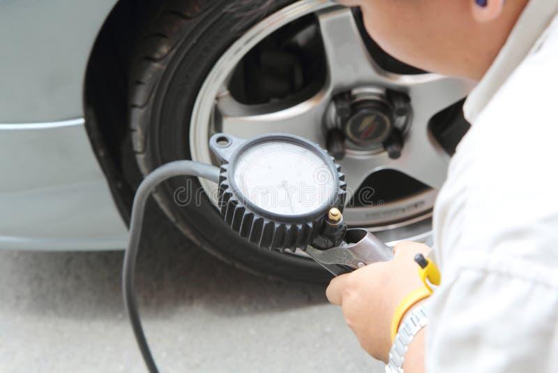 inflate gummihjul royaltyfria foton