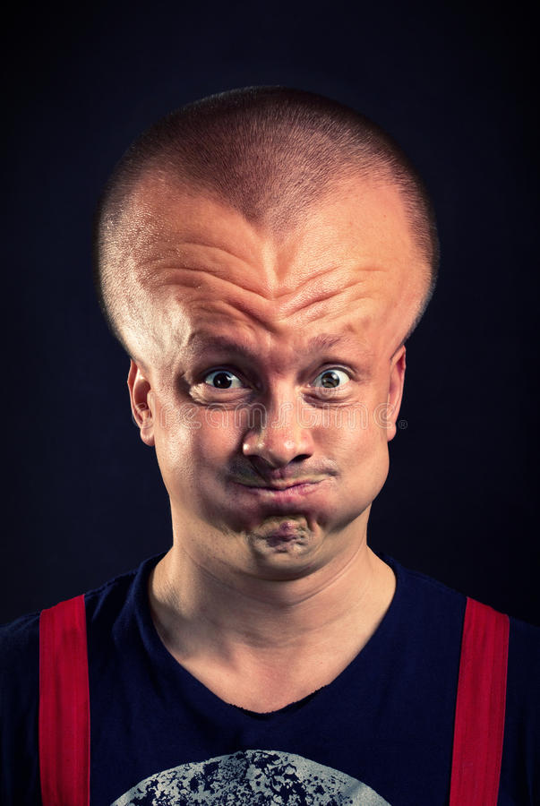 Free Inflated Head Royalty Free Stock Photo - 26655045