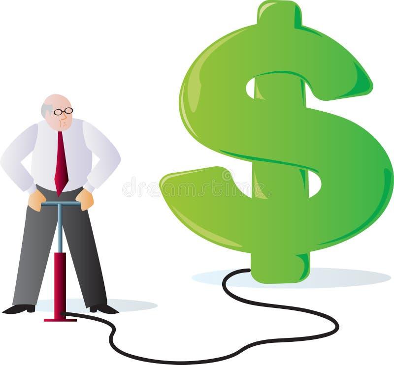 Inflatie vector illustratie