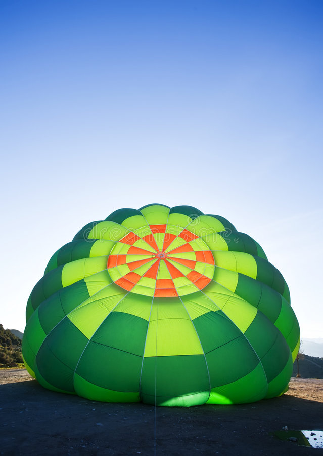 Download Inflating balloon stock photo. Image of green, colorful - 8261774