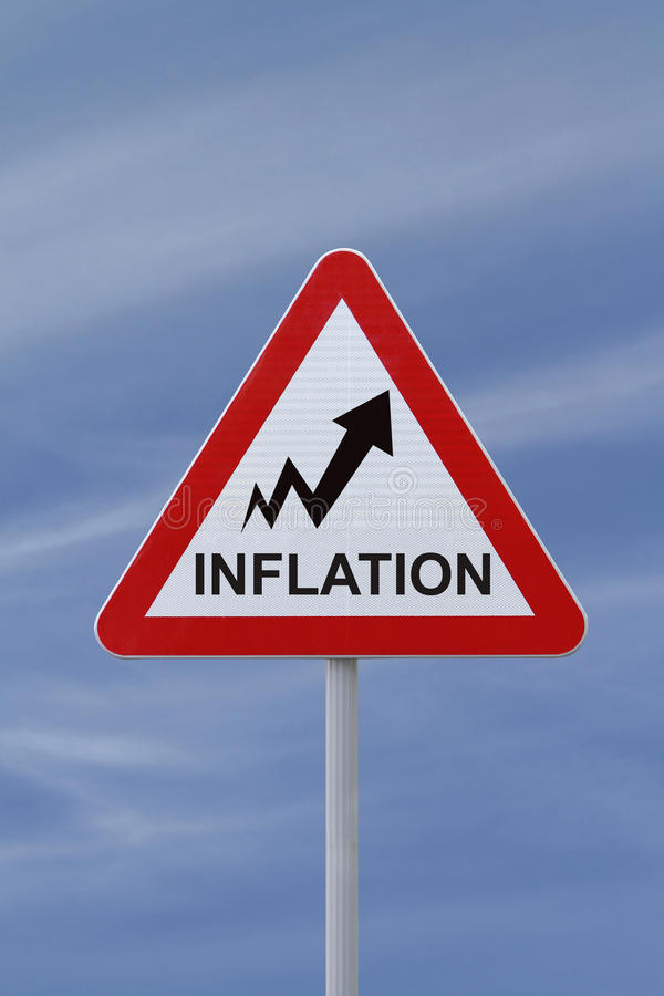 Free Inflation Going Up Royalty Free Stock Photo - 24435885