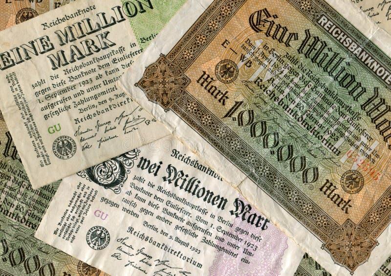 Inflazione immagine stock
