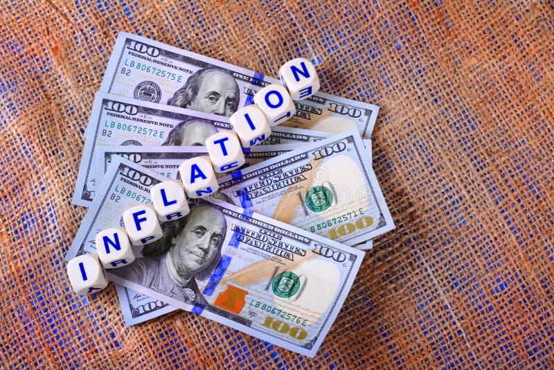 Inflazione immagini stock