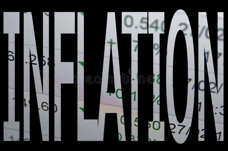 inflazione fotografie stock libere da diritti