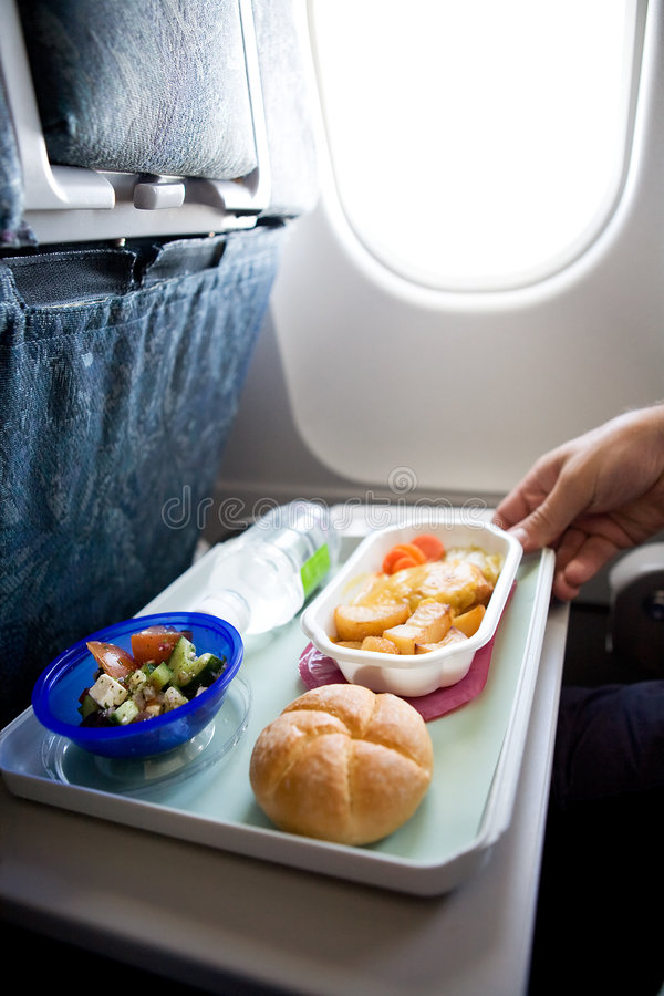 Free Inflight Meal Royalty Free Stock Photography - 6036407