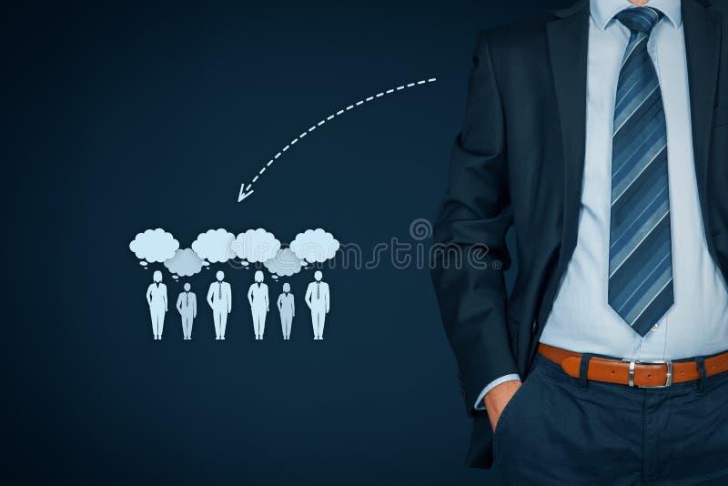 Influencer и идейный лидер стоковые изображения rf