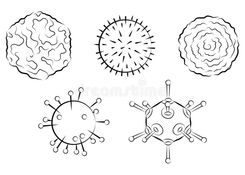 Download Influenza viruses stock vector. Illustration of cell - 21994307