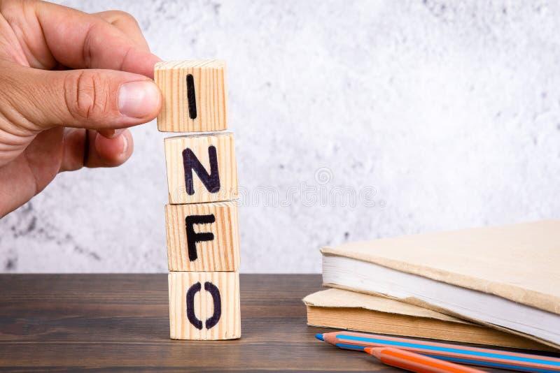 Info Concept voor zakelijke, consultancy- en auditactiviteiten royalty-vrije stock fotografie