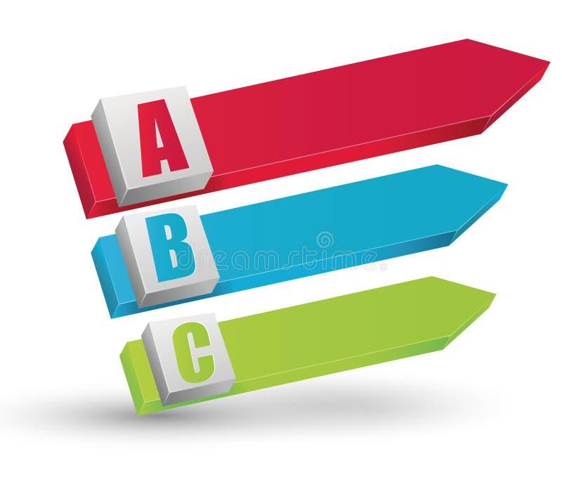 Info-grafische Elementen Stock Afbeeldingen