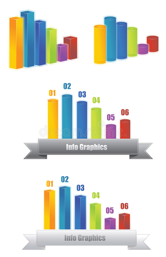 Download Info graphic 3D stock vector. Image of elements, infomation - 26839834