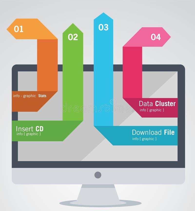 Info-Graphic elements stock illustration