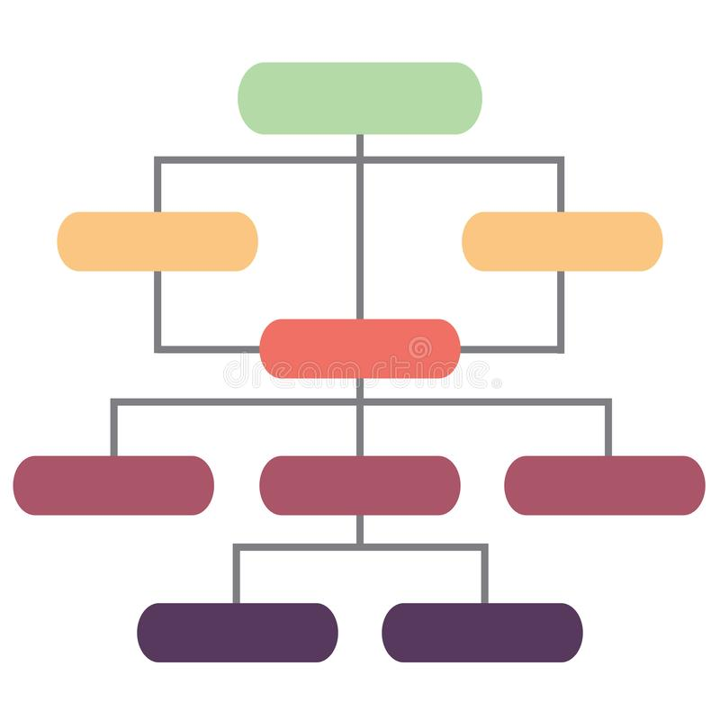 Info graphic and organizational structure. This vector is editable and hight quality stock illustration