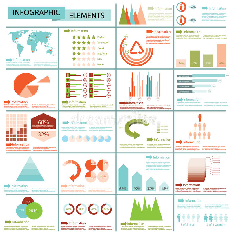Download Info graphics collection stock vector. Image of graphics - 26928248