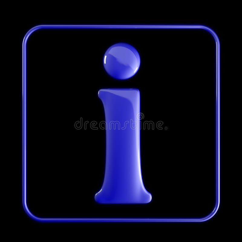Free Info Icon Royalty Free Stock Photography - 12400317