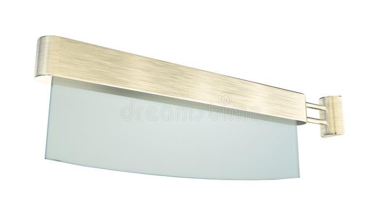 Download Info Panel Isolated 3d Model Stock Illustration - Illustration of chrome, white: 25298901