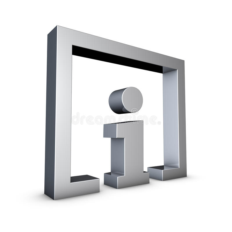 Download Info Sign stock illustration. Image of help, white, answer - 15290712