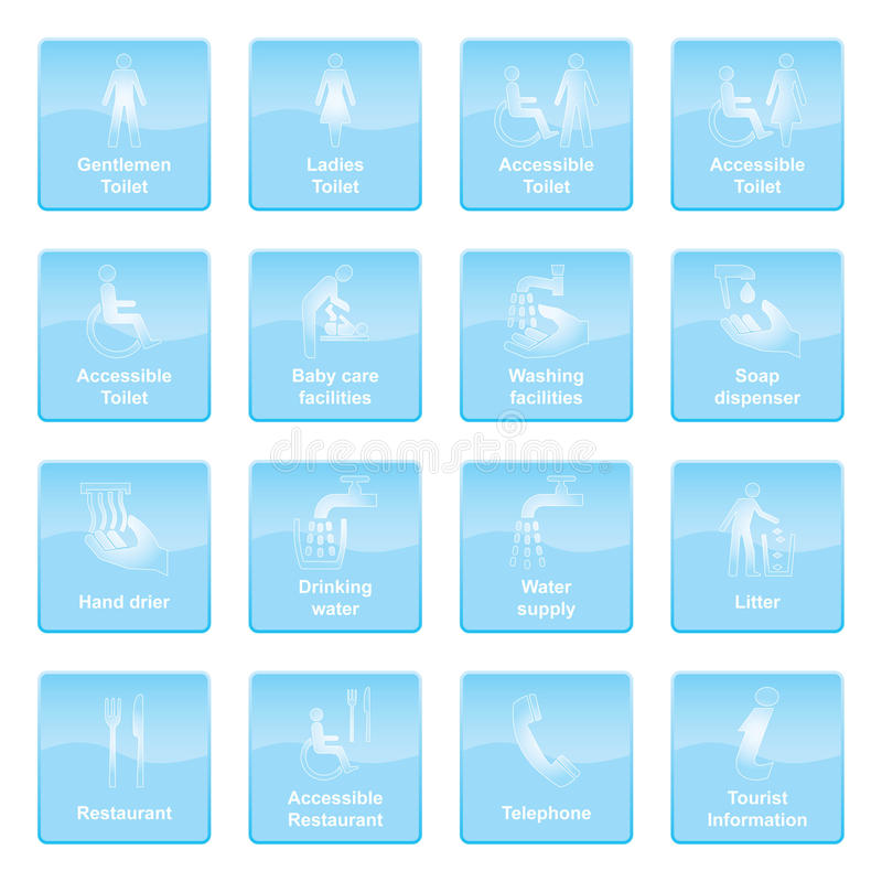 Download Info Symbols Blue Royalty Free Stock Images - Image: 19949889