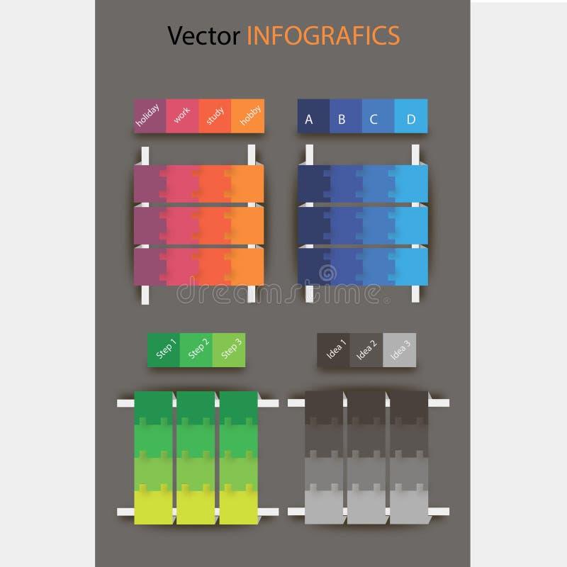 infografic stock illustrationer