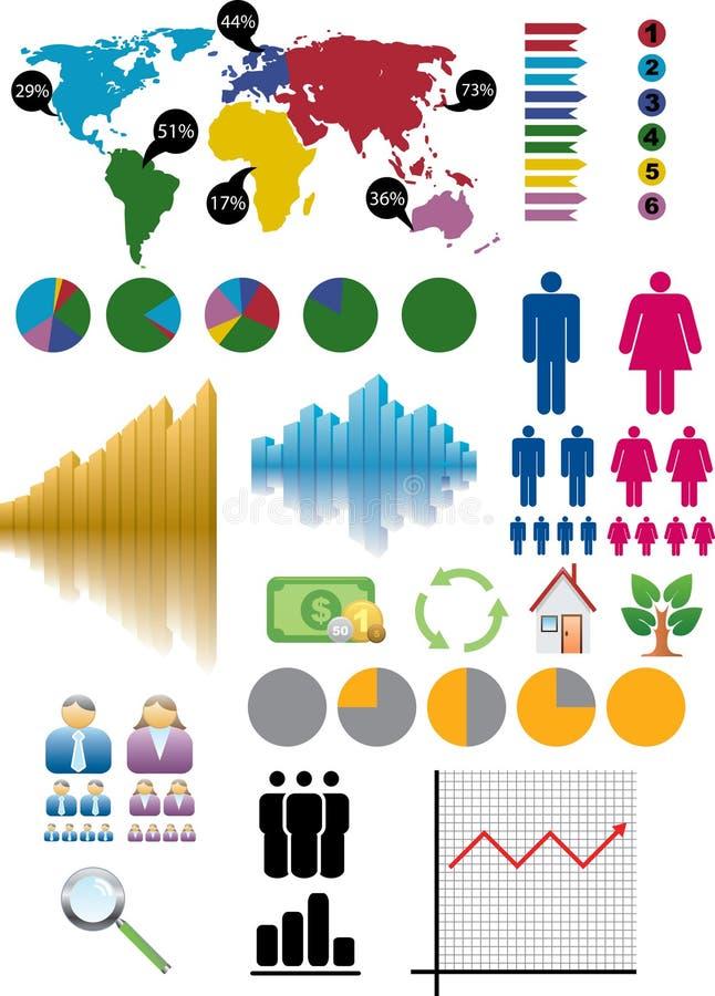Infograph royalty illustrazione gratis