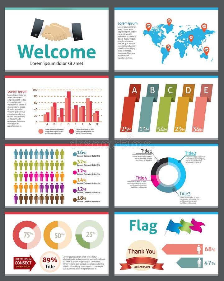 Infographic传染媒介例证介绍 向量例证