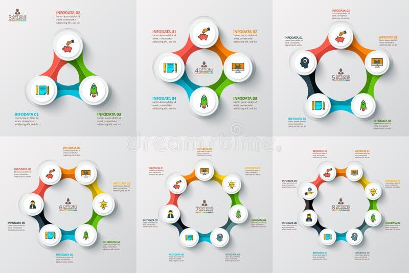 infographic传染媒介的圈子 向量例证