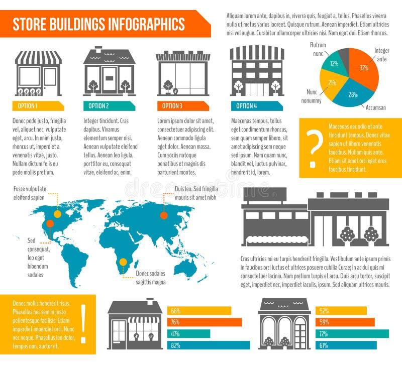 infographic的企业创办 库存例证