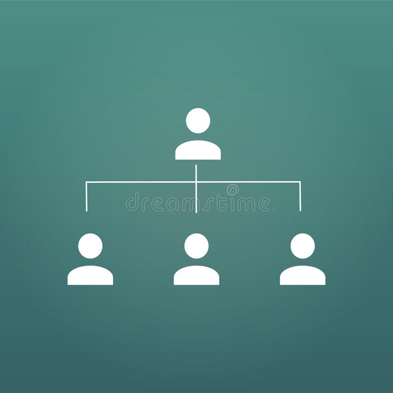 infographic的组织系统图,人象,阶层金字塔概念,传染媒介例证,介绍的,小册子,横幅 皇族释放例证