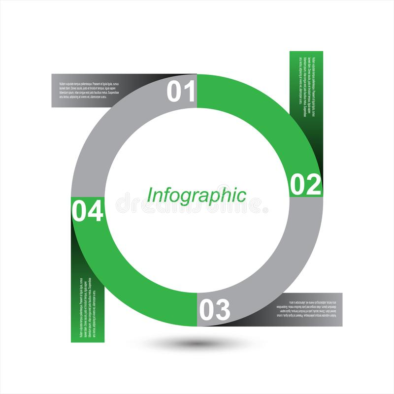 Infographic设计模板 免版税库存图片