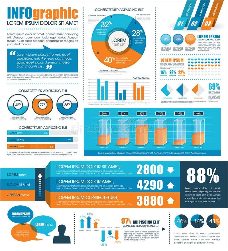 Infographic stock de ilustración
