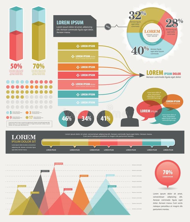 Infographic ilustração royalty free
