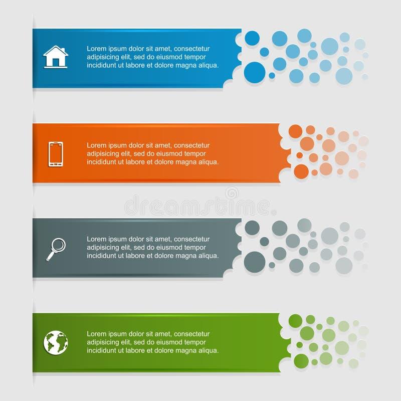 Infographic royalty-vrije illustratie