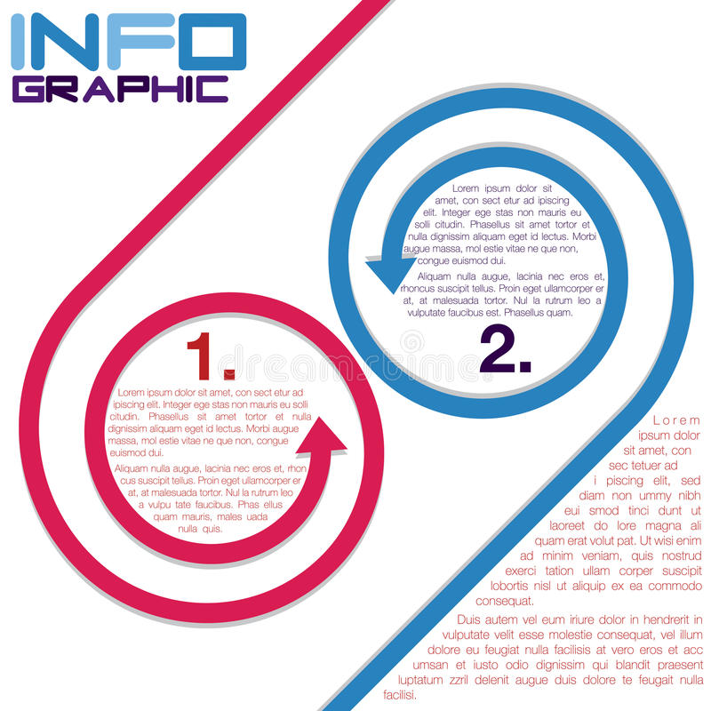 Infographic stock illustrationer