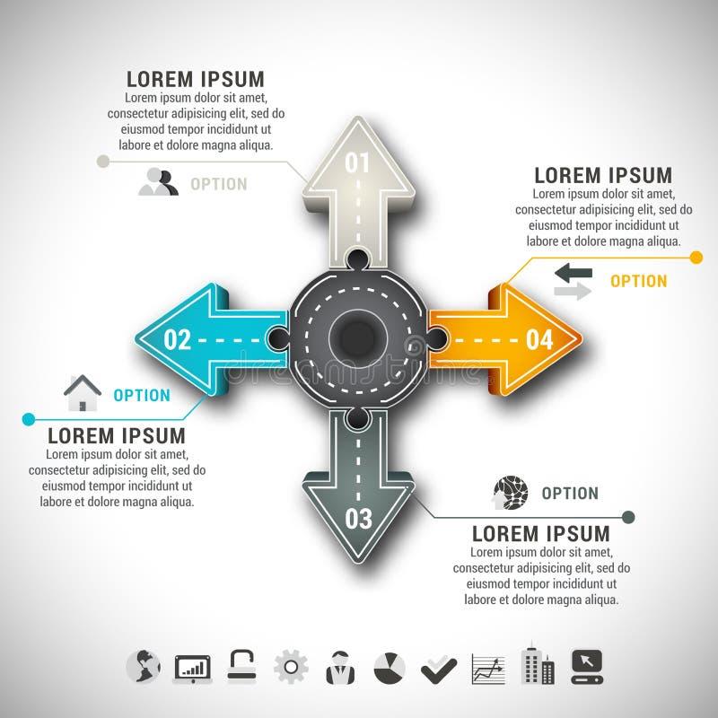 Infographic απεικόνιση αποθεμάτων
