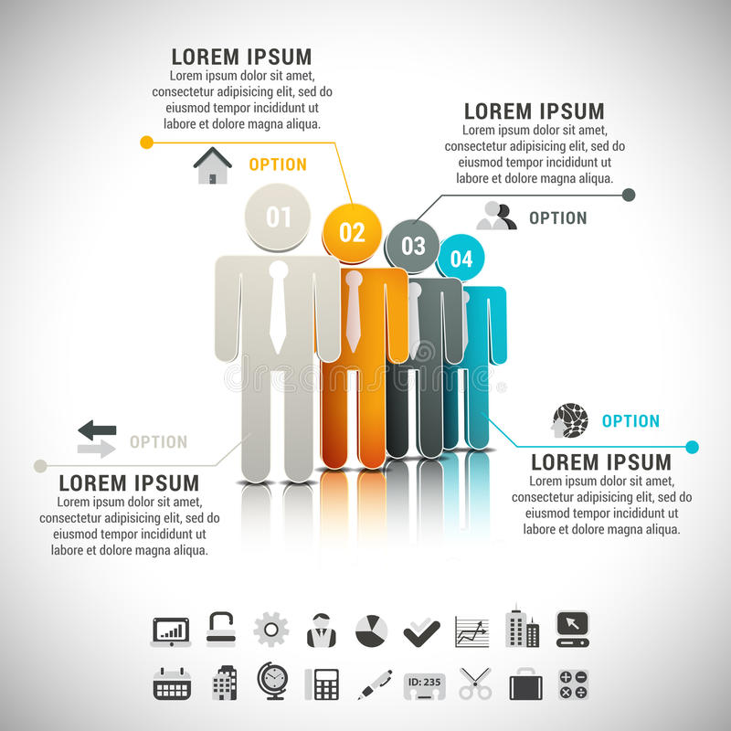 Infographic stock illustrationer