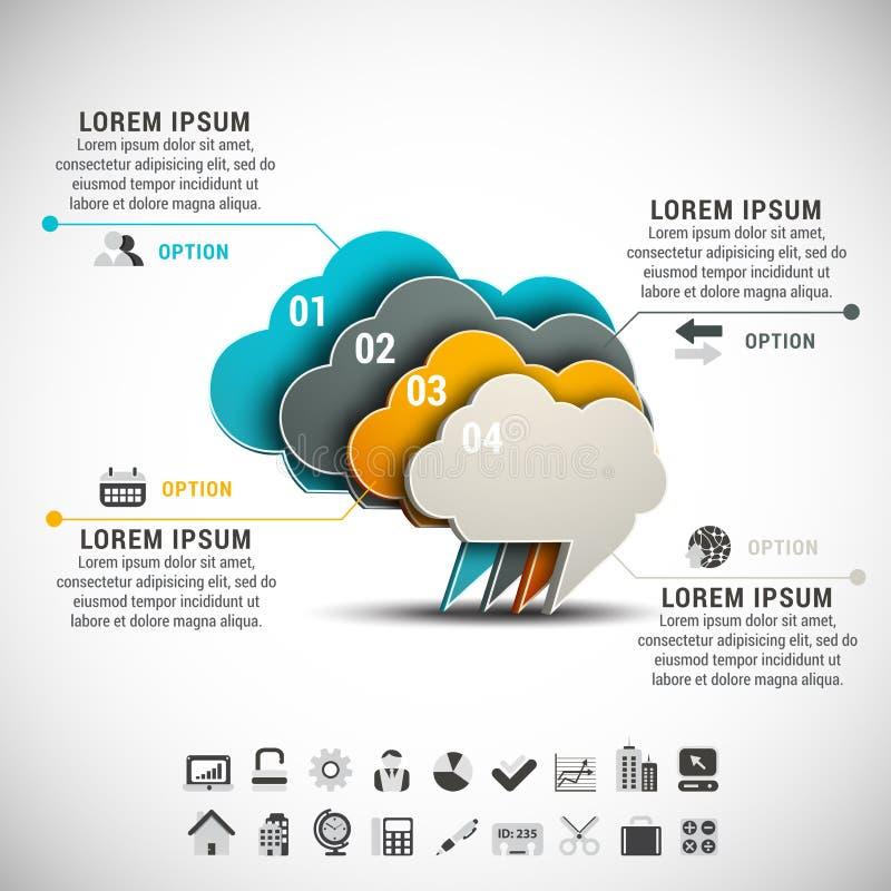 Infographic illustrazione vettoriale