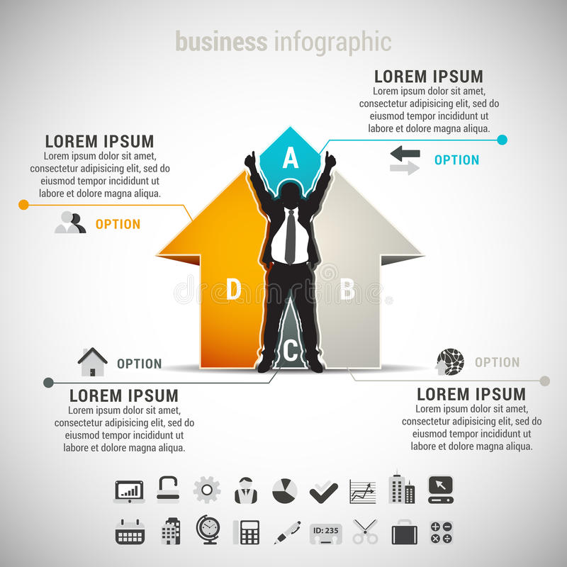 Infographic royalty illustrazione gratis