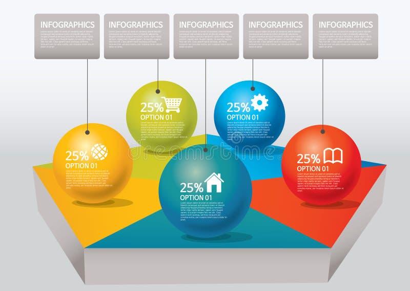 Infographic fotografía de archivo libre de regalías