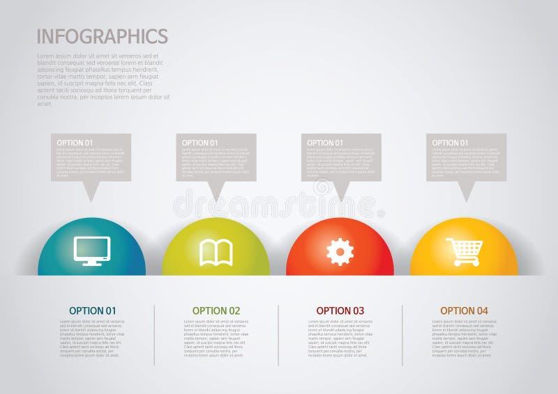 Infographic illustration de vecteur