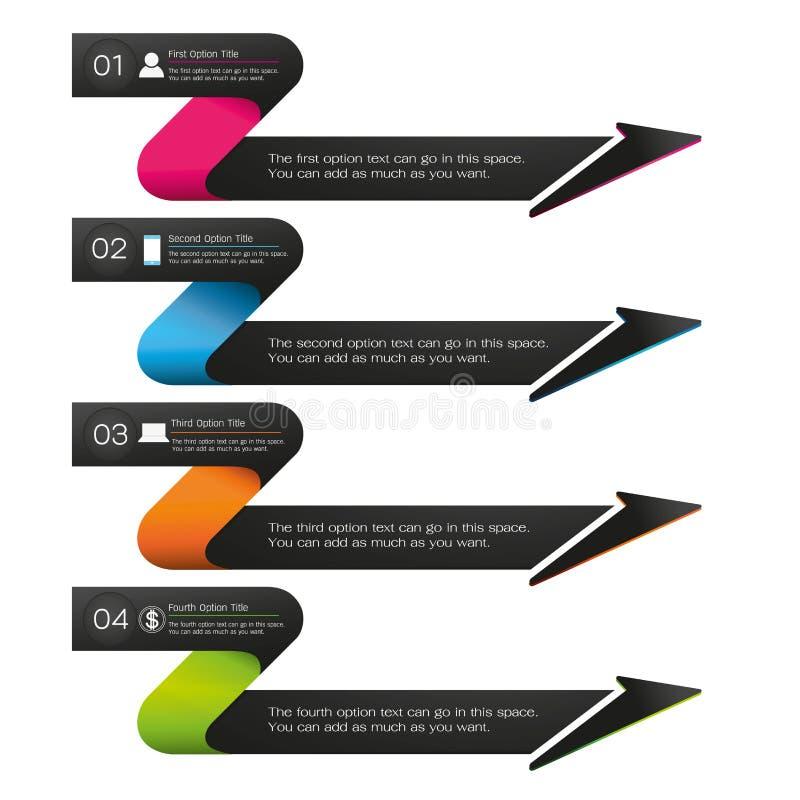 Infographic ilustración del vector