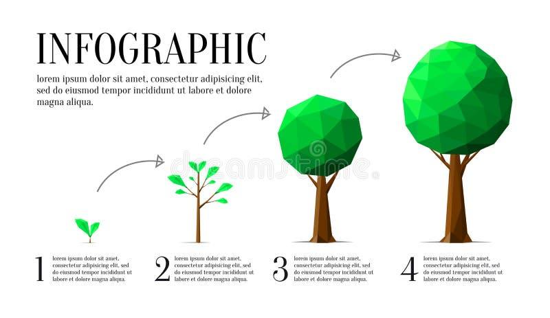Infographic1 向量例证