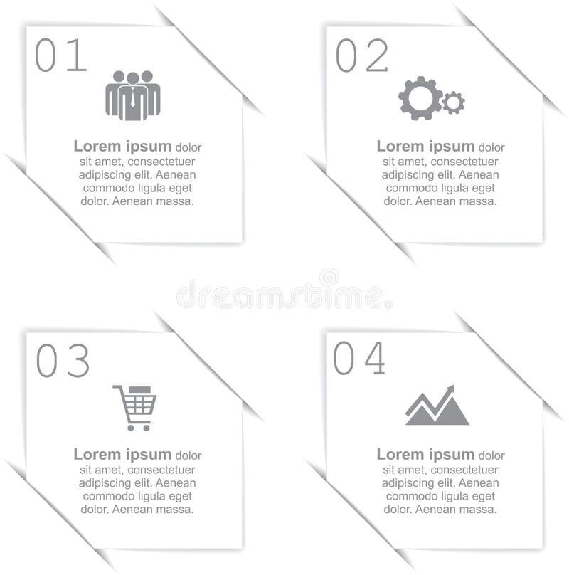 Infographic abstracto Ilustración del vector stock de ilustración