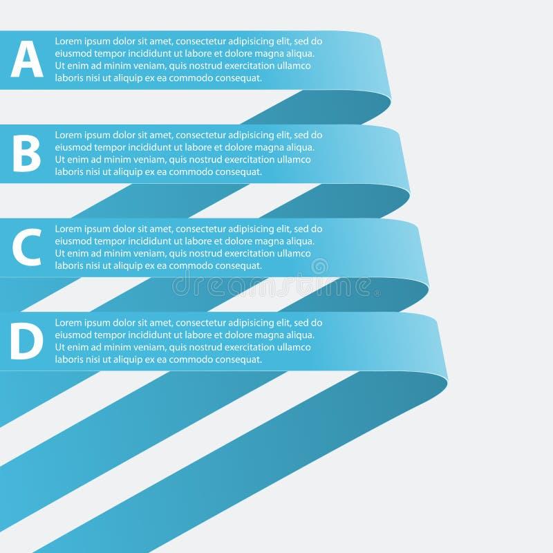 Infographic abstrato. Elementos do projeto. Ilustração do vetor. ilustração royalty free