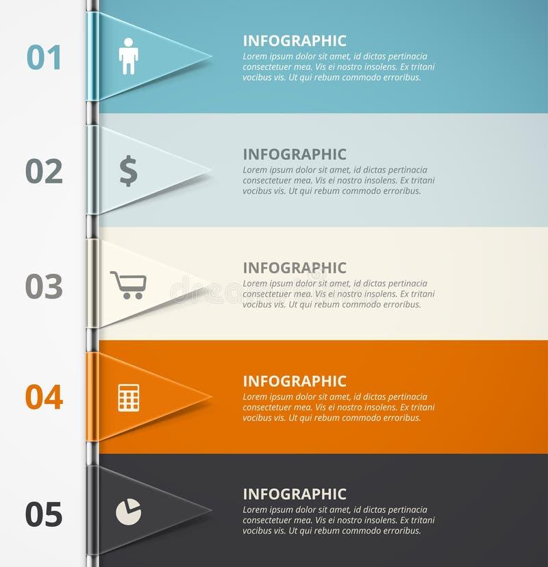 Infographic Background royalty free illustration