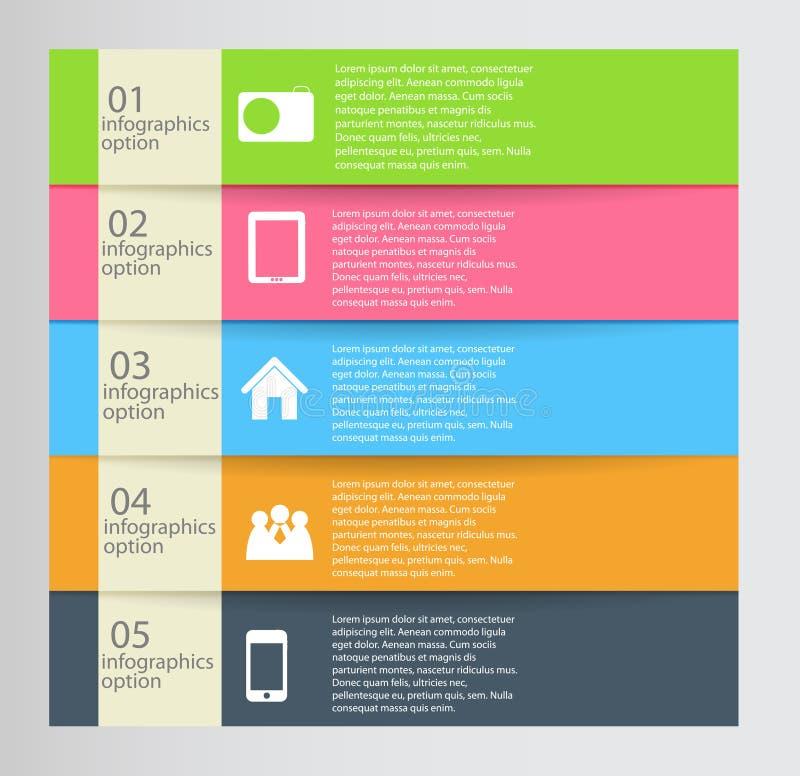 Infographic bedrijfsmalplaatje vectorillustratie stock illustratie